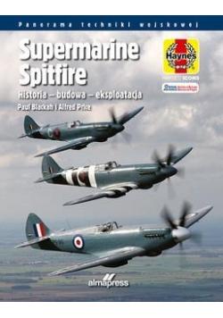 Supermarine Spitfire. Historia budowa eksploatacja