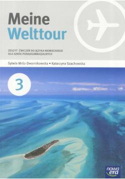 Meine Welttour 3 zeszyt ćwiczeń do języka niemieckiego dla szkół ponadgimnazjalnych