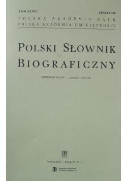 Polski Słownik Biograficzny zeszyt 200