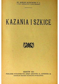 Kazania i szkice 1921r
