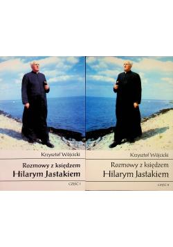Rozmowy z księdzem Hilarym Jastakiem 2 części plus autograf Jastaka