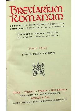 Breviarium Romanum ex decreto SS Concilii Trident