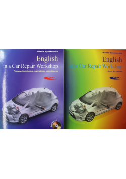 English in a Car Repair Workshop Podręcznik i klucz do ćwiczeń plus 2 CD