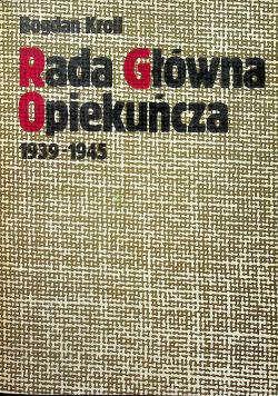 Rada Główna Opiekuńcza 1939 1945