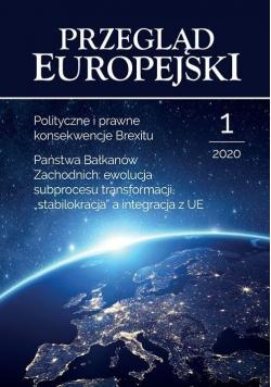 Przegląd Europejski 1/2020