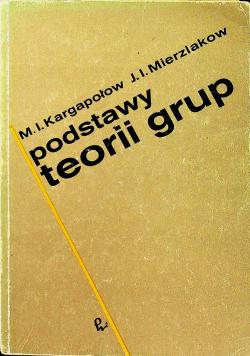 Podstawy teorii grup