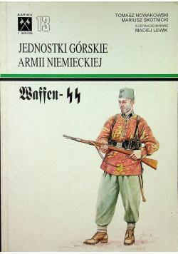 Jednostki górskie armii niemieckiej