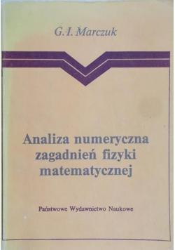 Analiza numeryczna zagadnień fizyki matematycznej