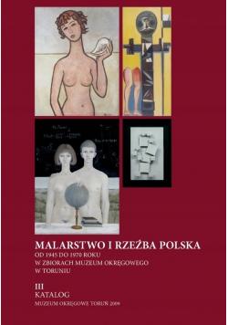 Malarstwo i rzeźba Polska od 1945 do 1970 r