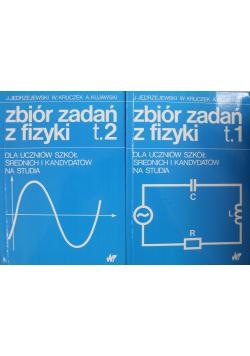 Zbiór zadań z fizyki tom 1 i 2