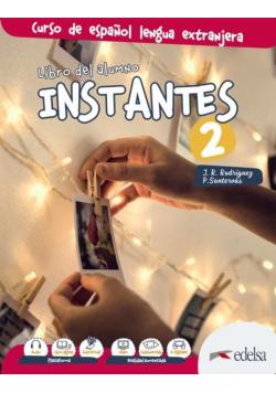 Instantes 2 podręcznik + kod online