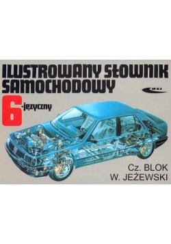 Ilustrowany słownik samochodowy 6 języczny