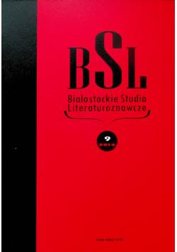 BSL Białostockie studia literaturoznawcze 8/206