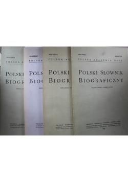 Polski słownik biograficzny Tom XXIX 4 Zeszyty