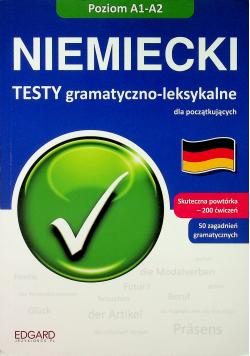Niemiecki Testy gramatyczno leksykalne A1 A2