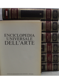 Enciclopedia Universale Dell Arte vol od 1 do 7