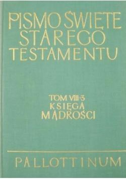 Pismo Święte Starego Testamentu Tom VIII - 3