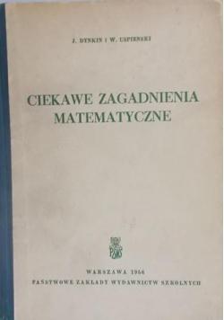 Ciekawe zagadnienia matematyczne