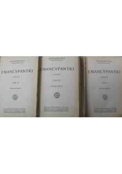 Emancypantki 3 tomy 1915 r.
