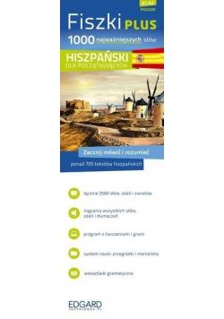 Fiszki PLUS 1000 najważniejszych słów Hiszpański dla początkujących
