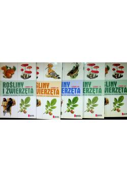 Rośliny i zwierzęta 5 tomów