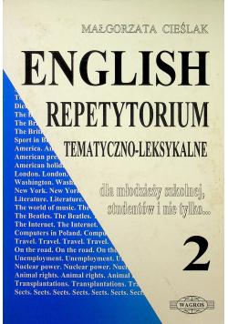 English repetytorium Tematyczno - Leksykalne