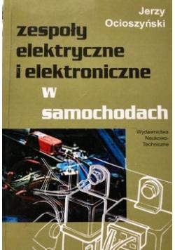 Zespoły elektryczne i elektroniczne w samochodach