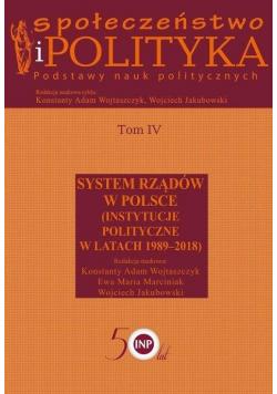 Społeczeństwo i polityka. Podstawy nauk polit. T.4