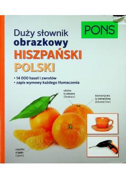 Duży słownik obrazkowy hiszp pol PONS