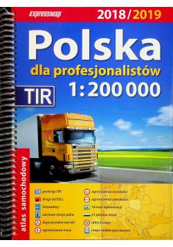 Polska dla profesjonalistów Atlas samochodowy TIR