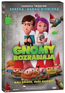 Gnomy rozrabiają DVD