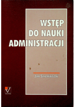 Wstęp do nauki administracji