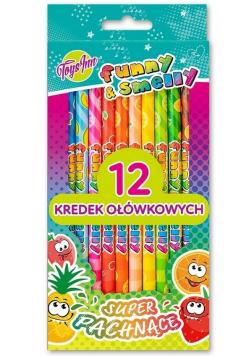 Kredki Funny&Smelly 12szt STnux