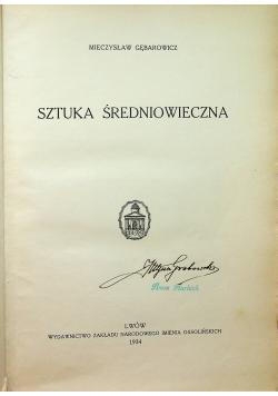 Historja sztuki Tom II Sztuka średniowieczna 1934 r