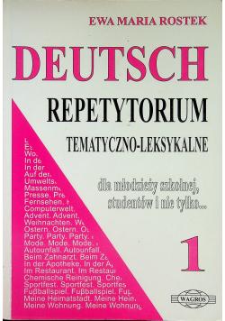 Deutsch Repetytorium tematyczno leksykalne 1