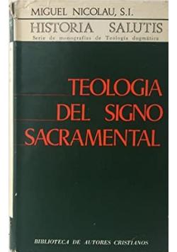 Teologia Del Signo Sacramental