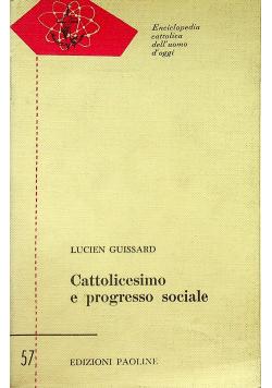 Cattolicesimo e progresso sociale