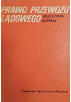 Prawo przewozu lądowego