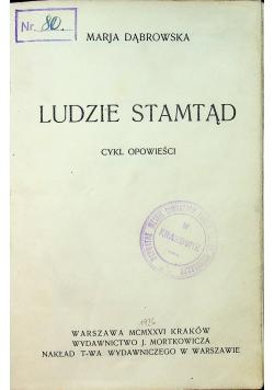 Ludzie stamtąd 1926 r.