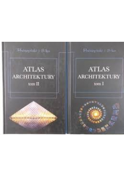 Atlas Architektury Tom I i II