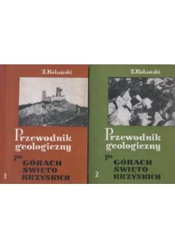 Przewodnik geologiczny po Górach Świętokrzyskich 2 tomy
