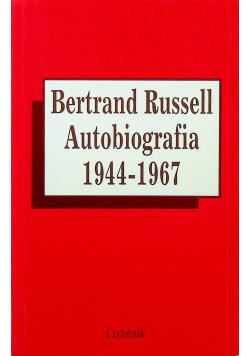 Bertrand Russell Autobiografia 1944 - 1967