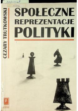 Społeczne reprezentacje polityki