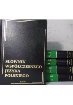 Słownik współczesnego języka polskiego 5 tomów