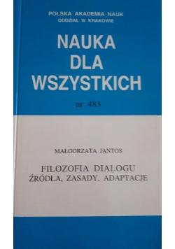 Nauka dla wszystkich nr 483 Filozofia dialogu