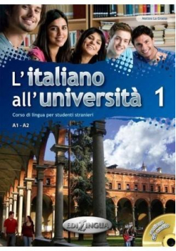 Italiano all'Universita 1 podr. + ćw.+ CD