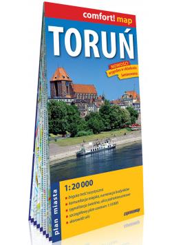 Toruń laminowany plan miasta 1:20 000
