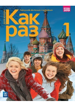 Kak raz Jęz rosyjski 1 Podręcznik