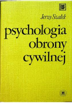 Psychologia obrony cywilnej