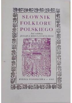 Słownik folkloru polskiego